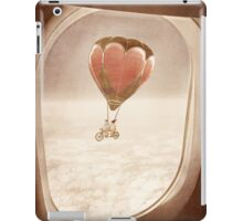 Saturday Dream - A Plane with a View iPad Case/Skin