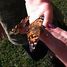 me n my son with butterflies by Hotlilmamax6