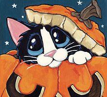 Peekaboo Pumpkin by Lisa Marie Robinson