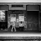Moonee Ponds Station by David Brewster