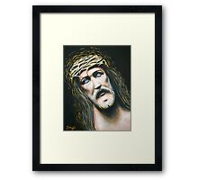 I Have Overcome The World Framed Print
