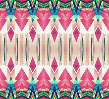 Pointed Mirror Abstract by perkinsdesigns