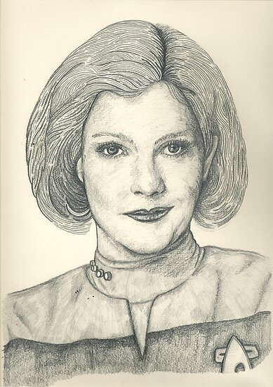 Captain Janeway by reslanh