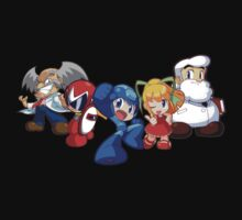 Mega Man & Friends! Chibi Style by krisvincent