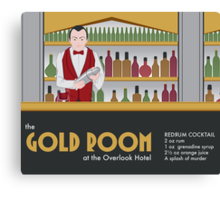 The Gold Room Canvas Print