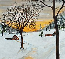 Evening Serenity by Jack G Brauer