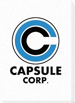 Capsule Corp Logo ( White version ) by karlangas