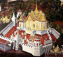 Grand Palace Bangkok Thailand 8 by Terry Jorgensen