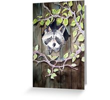 La Cachette (The Hiding Spot) Greeting Card
