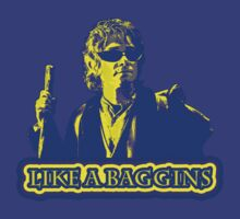 Like A Baggins [ Blue and Yellow + Sunglasses ] by picky62version2