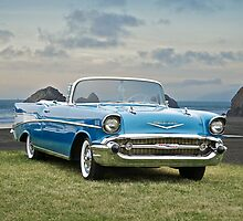 1957 Chevrolet Bel Air Convertible by DaveKoontz