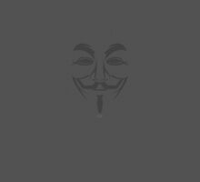 Anonymous/V for Vendetta by Ross Bowden