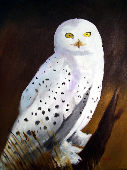Harfang des Neiges (Snow Owl) by Anne Guimond