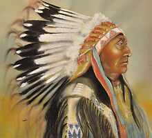 Brule-Sioux Chief by Martin Gyger