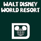 Walt Disney World Resort Retro 006 White by AngrySaint