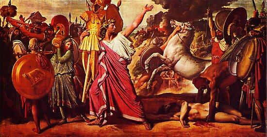 Jean Auguste Dominique Ingres 019 by Adam Asar