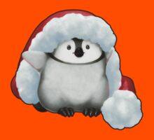 Santa Hat Wearing Baby Emperor Penguin Kids Clothes