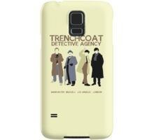 Trenchcoat Detective Agency Samsung Galaxy Case/Skin