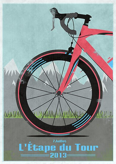 L'Étape du Tour Bike by Andy Scullion