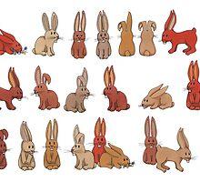 rabbits by AnnaAsche