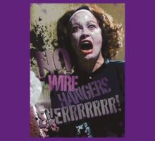 No Wire Hangers Mommie Dearest Tshirt & Iphone! by Renny Roccon