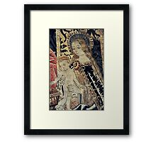 Madonna e Bambino Framed Print