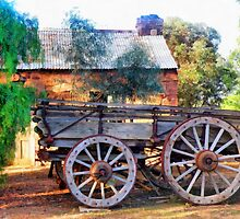 Outback Australian Scene by Elaine Game