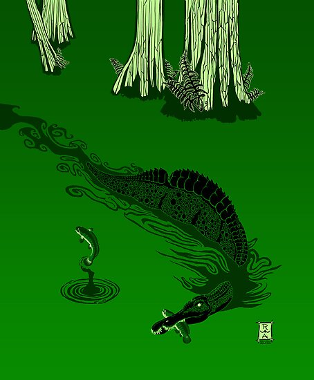 Swamp Dragon by alaskanime
