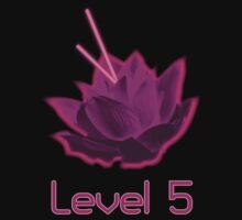 Level 5 Laser Lotus - Pink by megsakin