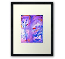 """""""Skitzoeffective 10"""" by Chip Fatula Framed Print"""