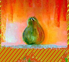 """""""Enhanced Pear"""" by Chip Fatula by njchip123"""