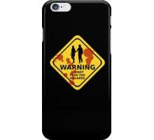 Walking dead - do not feed the walkers iPhone Case/Skin
