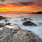 Currumbin Sunrise by Shelley Warbrooke