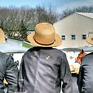 Three Straw Hats by Monte Morton