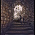 Via Dolorosa by Patrick  McMullen