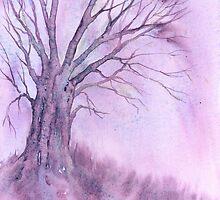 Winter Tree II by Jacki Stokes