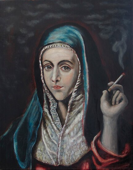 Smokin Virgin by UrbanGreen-Art