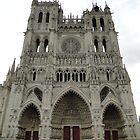 Amiens Cathedral, France by Indrani Ghose