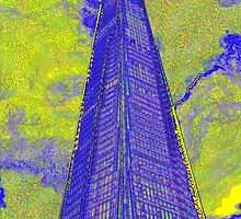 The Shard London Art by DavidHornchurch