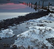 Sunset over the Jaws of Borrowdale by Martin Lawrence