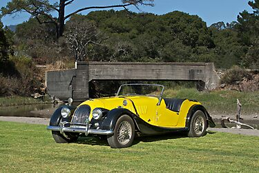 Vintage Morgan Sports Car by DaveKoontz