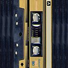 Maxell Gold cassette tape iphone 5, iphone 4 4s, iPhone 3Gs, iPod Touch 4g case by Pointsale store.com