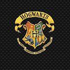 Harry Potter Hogwarts Case ( Black) by LostKittenClub