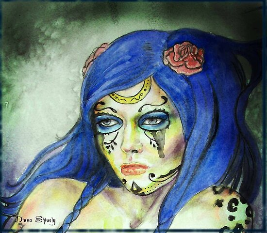 """Dead Girls Don""""t Cry by Diana Shively"""