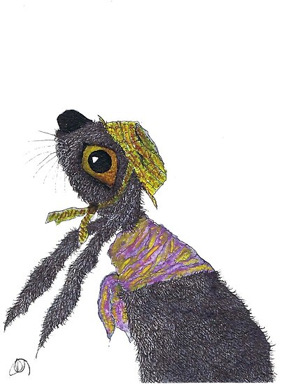HARE IN A BONNET by Hares & Critters