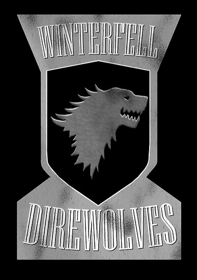 Winterfell Direwolves by uncmfrtbleyeti