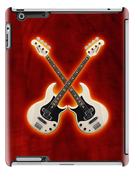 Double waite bass yamaha v2 ipad case by goodmusic
