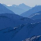 Alaska Mountains - iPad Case by SynappedPhoto