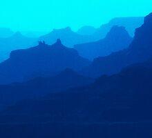 Grand Canyon Silhouette by John Catsis