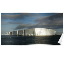 Panoramic Iceberg, Ross Sea, Antarctica Poster